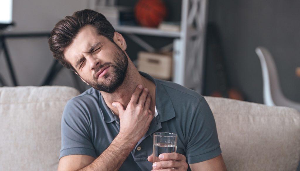Common cold throat