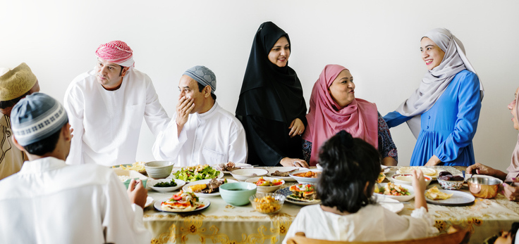 Healthy Eid with Family